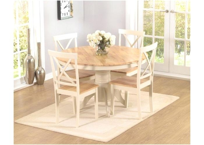 Cream Dining Set Tempura Four Dining Set With Bench In Natural And Intended For Cream Dining Tables And Chairs (Image 10 of 25)