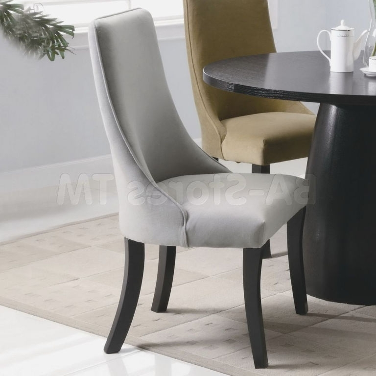 Cream Leather Dining Room Chairs Amazing Dining Room Lovely Modern With High Back Leather Dining Chairs (Image 7 of 25)