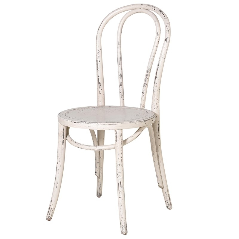 Cream Loop Back Shabby Chic Dining Chair – Mulberry Moon Pertaining To Shabby Chic Dining Chairs (View 5 of 25)