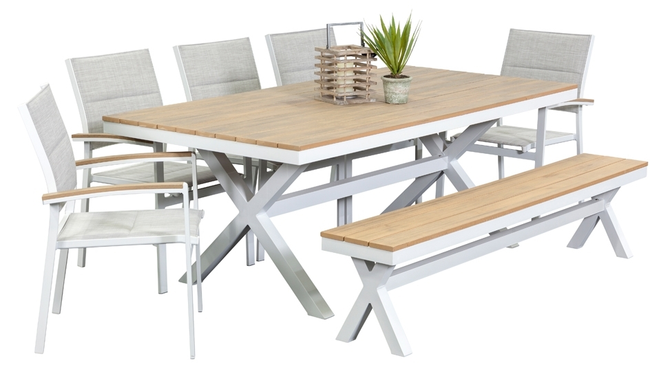 Create Your Favorite Spot Of Dining In Homes With Outdoor Dining For 8 Seat Outdoor Dining Tables (Image 15 of 25)