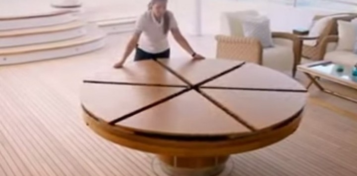 Creative Design Of Expandable Round Dining Table For Extendable Round Dining Tables (Image 4 of 25)