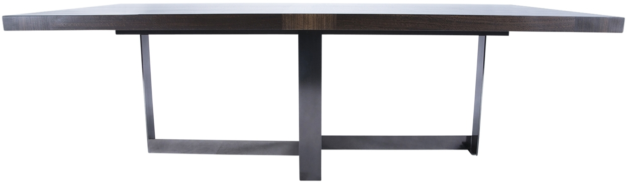 Cross Base Dining Table Within Helms 6 Piece Rectangle Dining Sets With Side Chairs (Image 7 of 25)