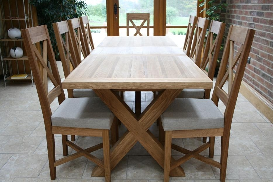 Cross Leg Dining Tables | Extending X Leg Tables | Oxbow Table With Dining Tables With Large Legs (Image 6 of 25)