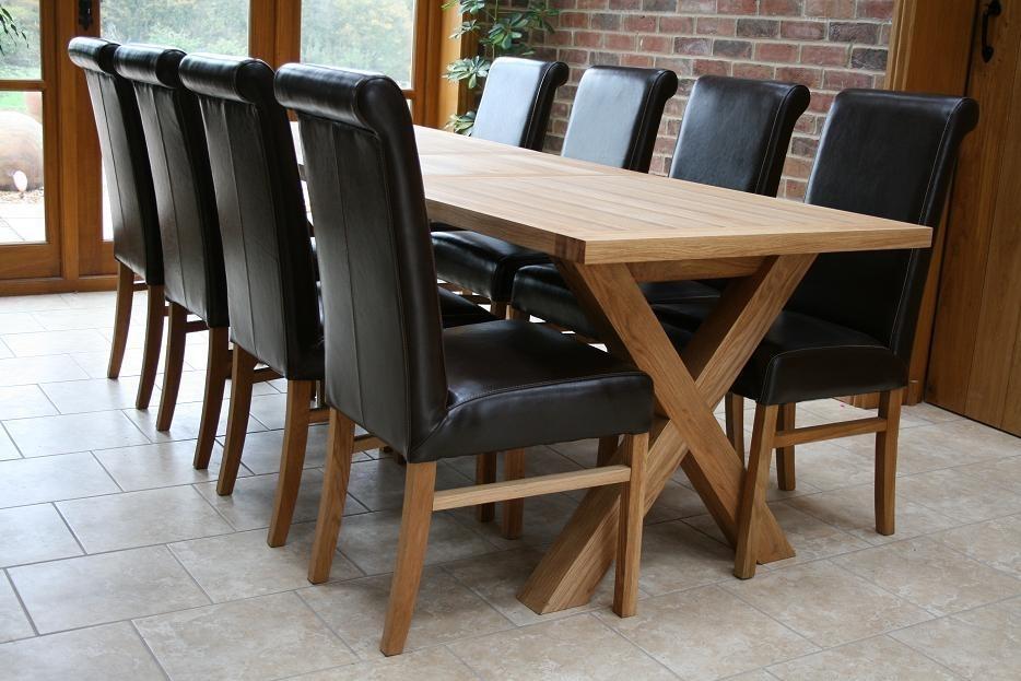 Cross Leg Dining Tables   Extending X Leg Tables   Oxbow Table Within Extending Dining Tables With 14 Seats (Image 6 of 25)