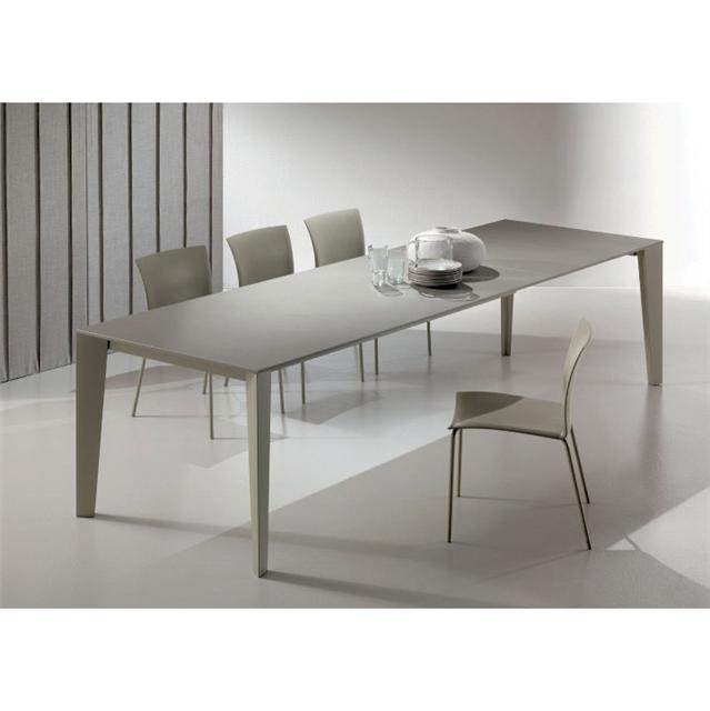 Cruz Modern Extending Dining Table Within Contemporary Extending Dining Tables (Image 9 of 25)