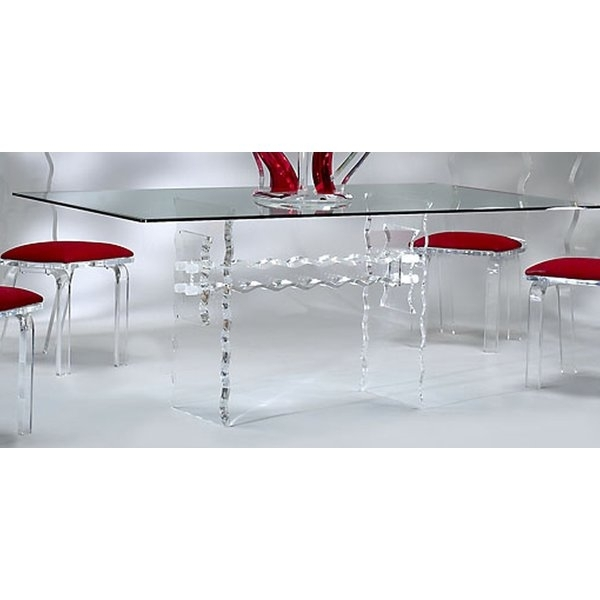 Crystal Dining Table | Wayfair With Regard To Crystal Dining Tables (View 20 of 25)