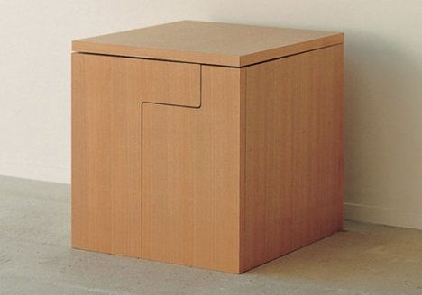 Cube Style's Dining Table In A Cube | Treehugger Pertaining To Cube Dining Tables (Image 11 of 25)