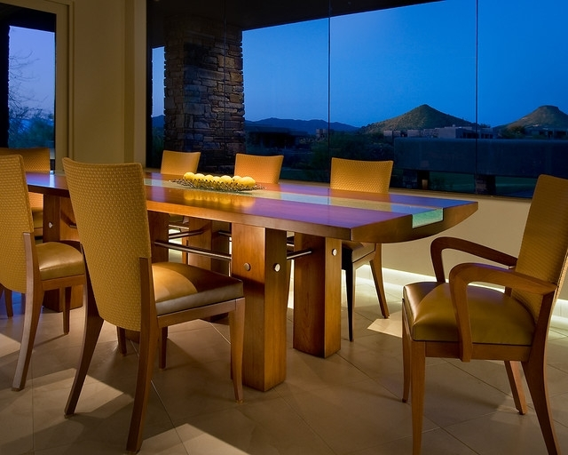 Custom Dining Table – Contemporary – Dining Room – Phoenix – In Phoenix Dining Tables (Image 2 of 25)