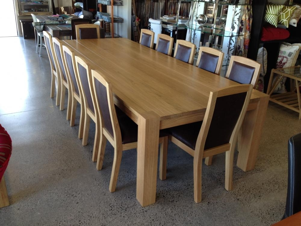 Custom Made Dining Tables & Chairs Tauranga, Hamilton, Auckland For Oak Dining Suites (Image 6 of 25)