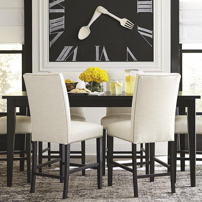 Custom Rectangular Table – Dining Room | Bassett Furniture Pertaining To Rectangular Dining Tables Sets (Image 10 of 25)