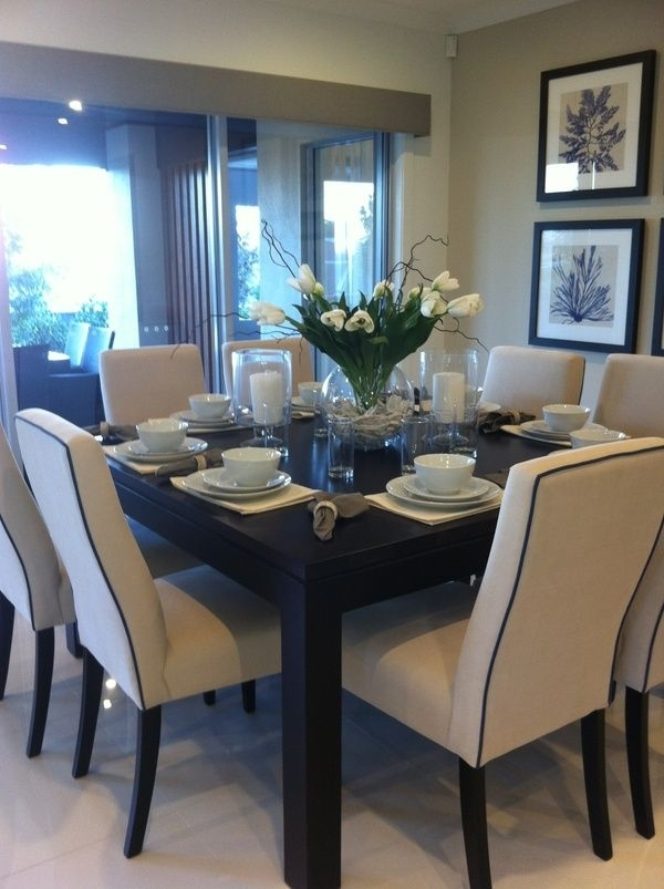 Cute Dining Room Set Up | Home Decor Ideas | Pinterest | Dining Room Intended For Dining Tables Set For  (Image 14 of 25)