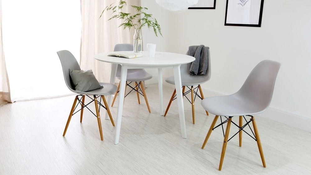Cute Round Dining Table And Chairs White Info | Bathroom Ideas Pertaining To Next White Dining Tables (View 11 of 25)