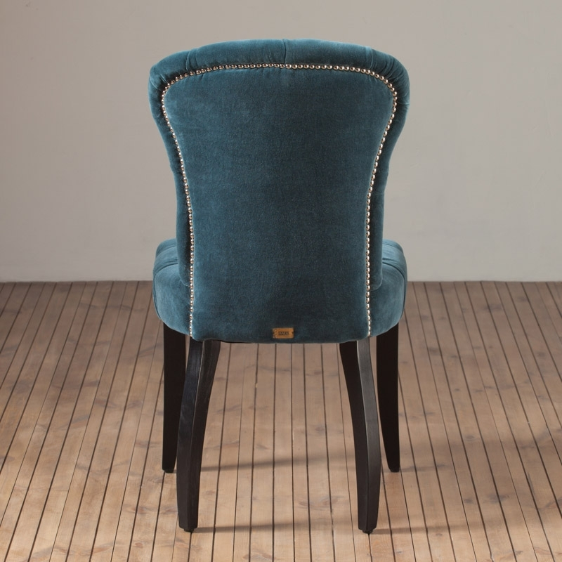 Стул Chester Dining Chair, Black Oak – Home Concept Интерьерные Магазины With Chester Dining Chairs (Image 25 of 25)