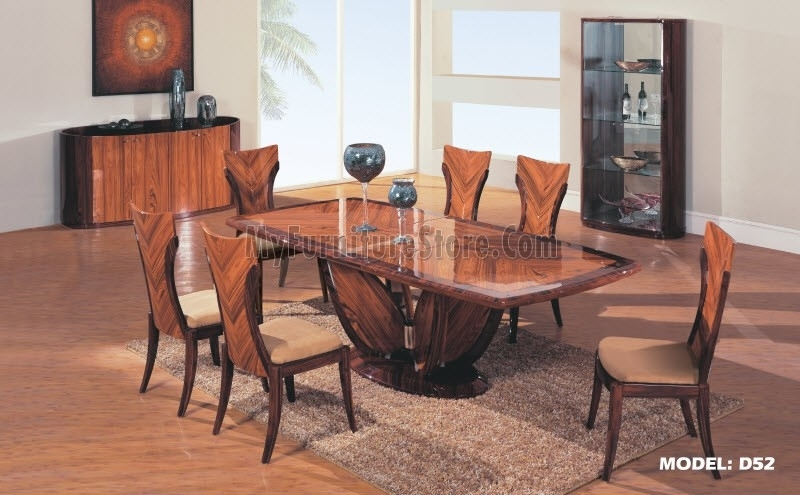 D52 Dt Global Contemporary Dining Set Intended For Contemporary Dining Sets (View 6 of 25)