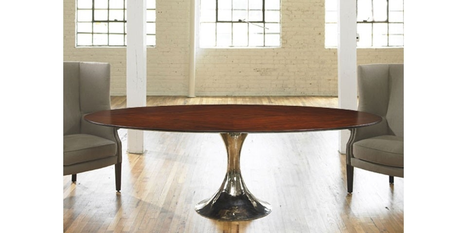 Dakota Oval Dining Table | Julian Chichester | The Longest Stay Regarding Chichester Dining Tables (View 2 of 25)