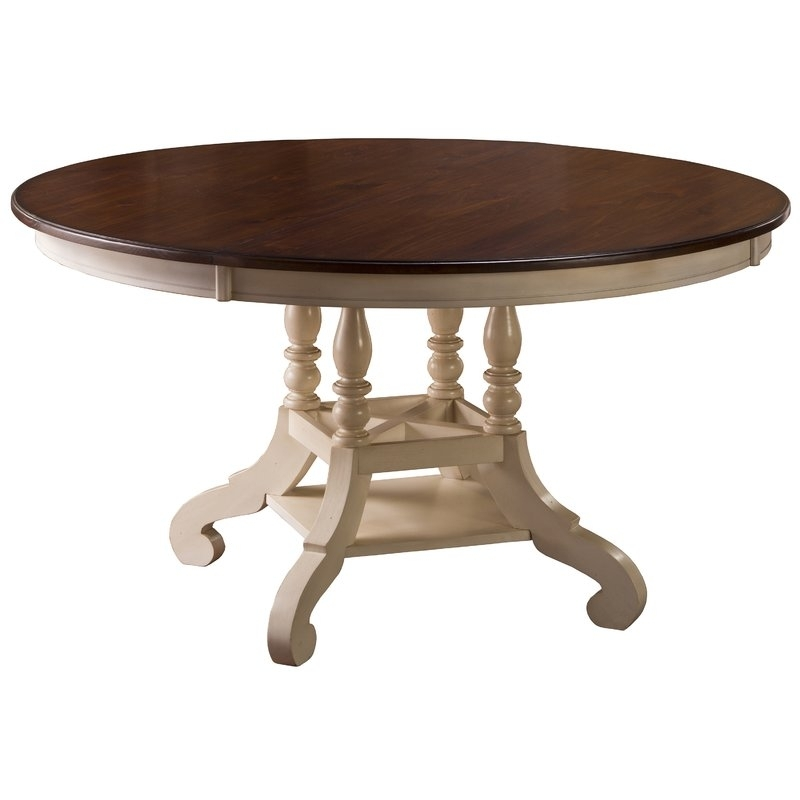 Dalton Round Extending Dining Table | Joss & Main Pertaining To Round Extending Dining Tables (View 21 of 25)