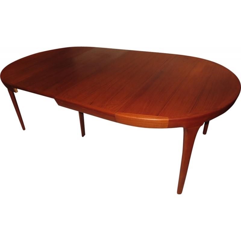 Danish Dining Table In Teakib Kofod Larsen – 1960S – Design Market Within Danish Dining Tables (Image 8 of 25)