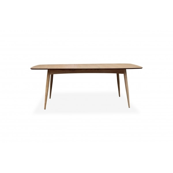 Danish Extension Dining Table With Regard To Danish Dining Tables (Image 12 of 25)