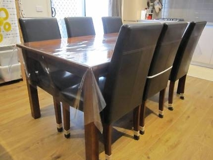 Dare Dining Table And Six Chairs | Dining Tables | Gumtree Australia Regarding Dining Tables And Six Chairs (View 14 of 25)