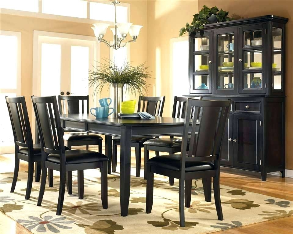 Dark Dining Room Furniture Dark Dining Room Tables – Busnsolutions In Dark Dining Room Tables (Image 6 of 25)