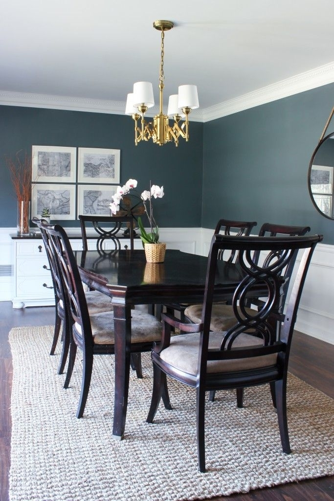 Dark Dining Room Ideas – Www (Image 8 of 25)