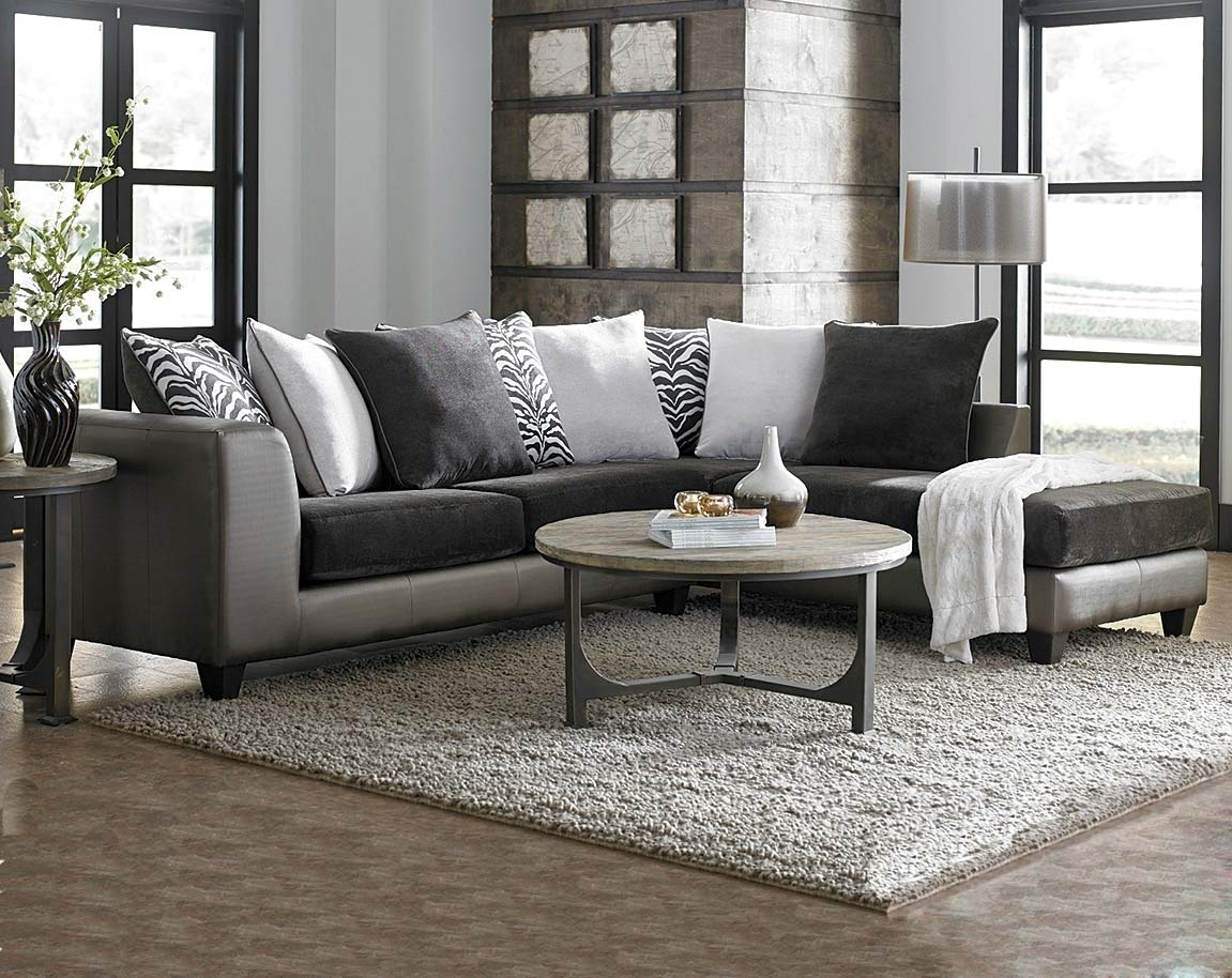 Dark Grey Sofa With Chaise @qc46 | Wendycorsistaubcommunity With Regard To Tatum Dark Grey 2 Piece Sectionals With Laf Chaise (View 25 of 25)