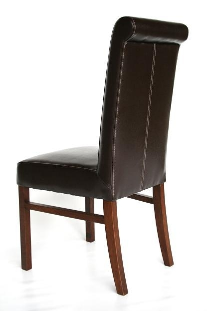 Dark Oak Dining Tables Chairs For Pubs, Restaurants & Bars | Brown In Dark Brown Leather Dining Chairs (Image 12 of 25)
