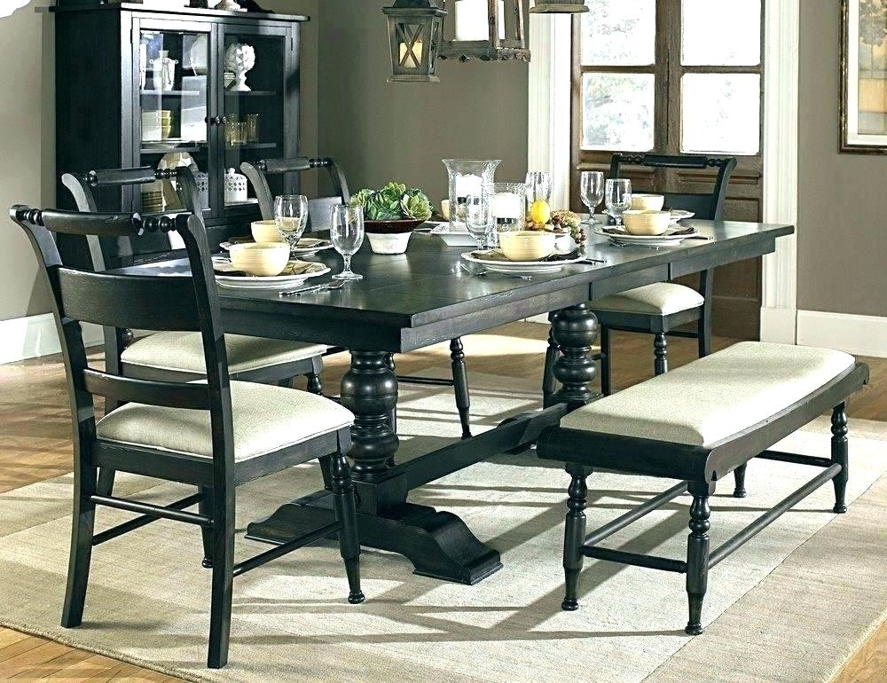 Dark Wood Dining Furniture Shop Categories Dark Wood Dining Tables Within Dark Dining Room Tables (Image 9 of 25)