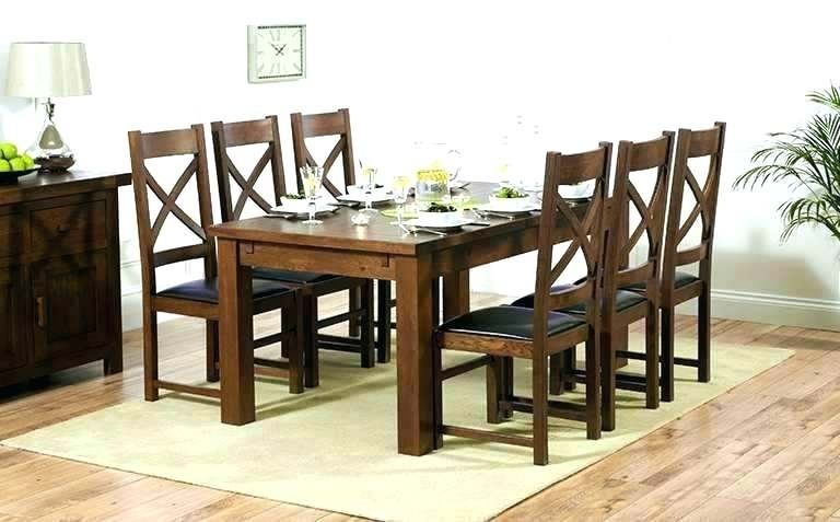 Dark Wood Dining Room Furniture – Wiseme With Dark Wood Dining Tables (Image 4 of 25)
