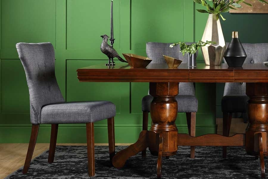 Dark Wood Dining Sets | Furniture Choice Pertaining To Dark Wood Dining Room Furniture (Image 7 of 25)
