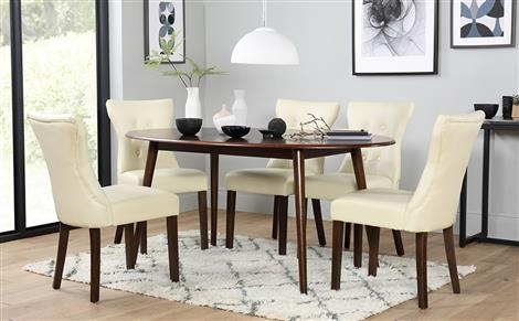 Dark Wood Dining Sets | Furniture Choice Throughout Dark Wood Dining Tables And Chairs (View 22 of 25)
