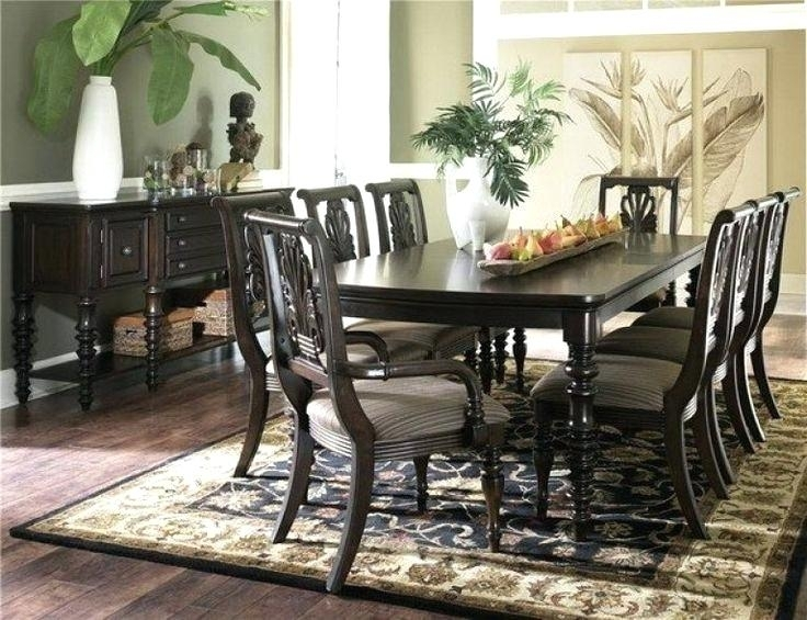 Dark Wood Dining Table Gorgeous Small Room Sets With White Chairs D With Regard To Dark Wood Dining Room Furniture (Image 8 of 25)