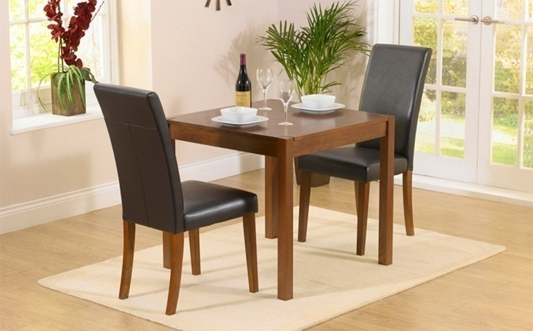 Dark Wood Dining Table Sets | Great Furniture Trading Company | The Inside Two Seater Dining Tables And Chairs (Image 9 of 25)