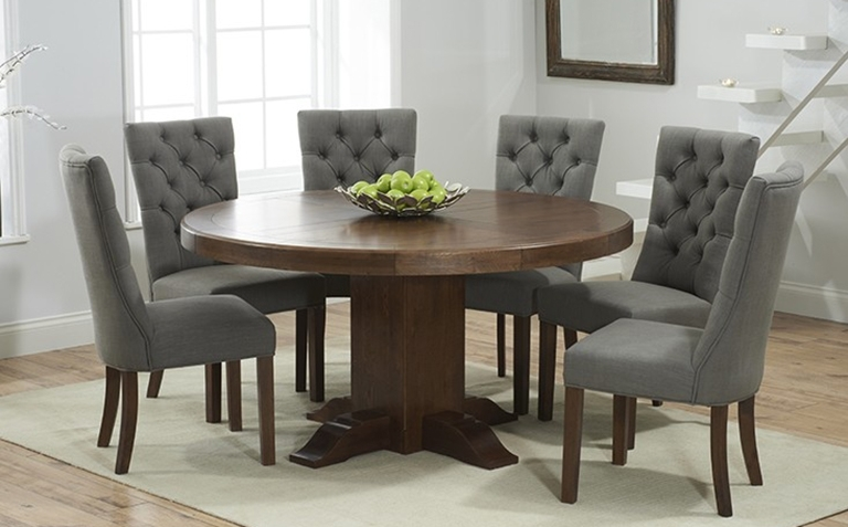Dark Wood Dining Table Sets | Great Furniture Trading Company | The Throughout Dark Solid Wood Dining Tables (Image 12 of 25)