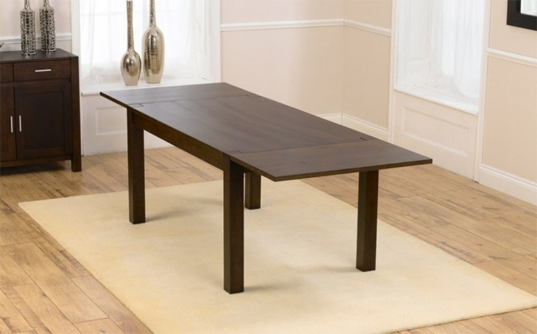 Featured Image of Dark Wood Extending Dining Tables