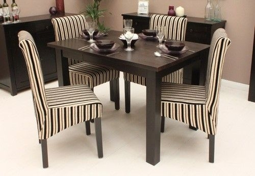 Dark Wood Small Dining Table (4 Seater) – Tables & Chairs – Shop Throughout Small Dark Wood Dining Tables (Image 10 of 25)