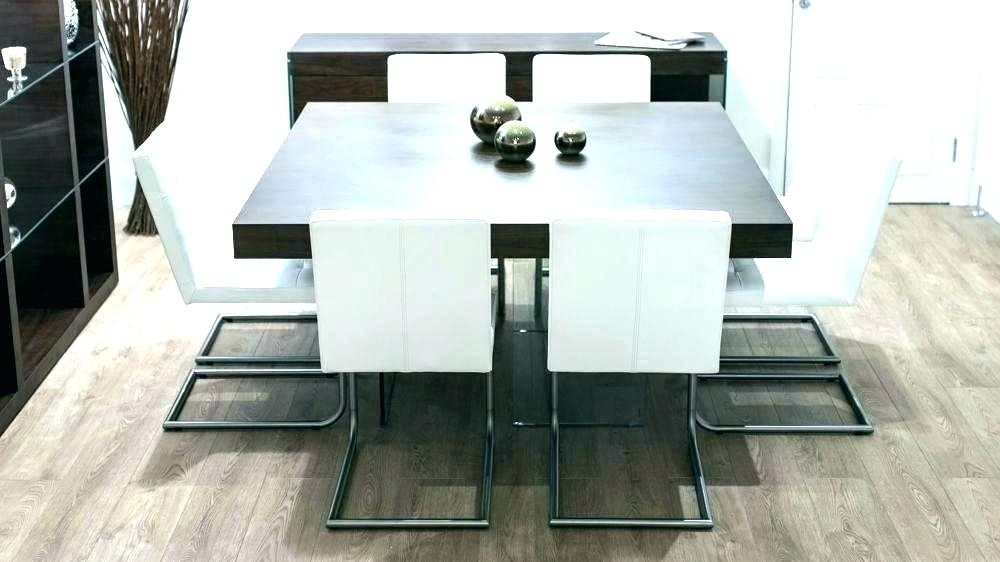 Dark Wood Square Dining Table Amusing Kitchen Sets 9 Best Room Regarding Dark Wood Square Dining Tables (Image 10 of 25)