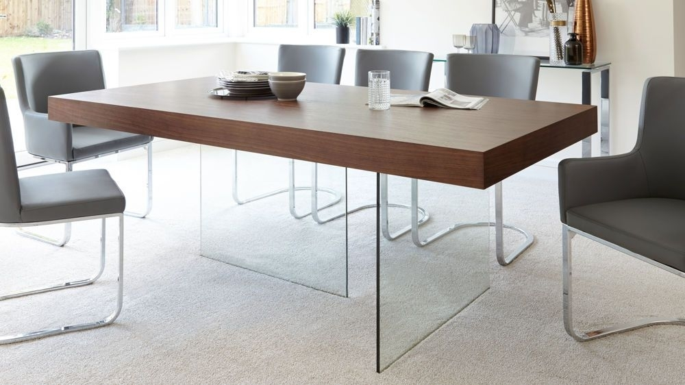 Dark Wooden 4 6 Seater Dining Table   Nicholas Way   Pinterest Pertaining To Dark Wood Dining Tables And 6 Chairs (Image 14 of 25)