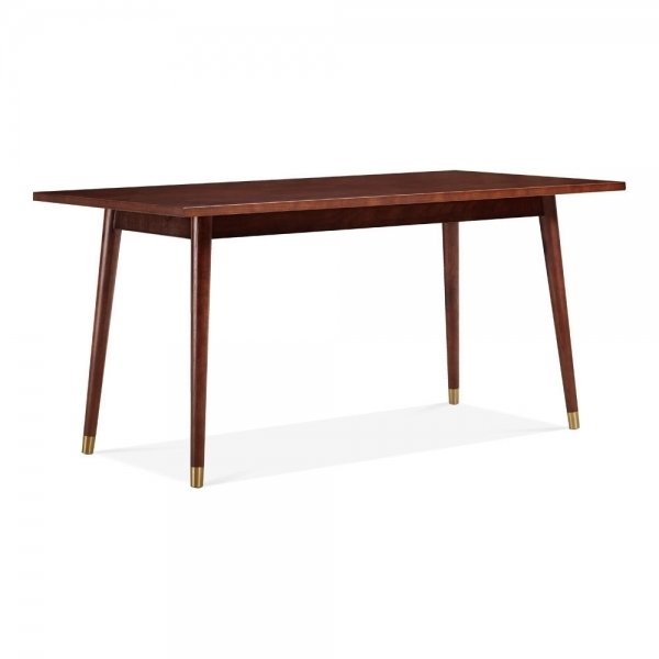 Dawson Rectangle Dining Table Walnut 180Cm| Dining Room Furniture Inside Dawson Dining Tables (Image 16 of 25)