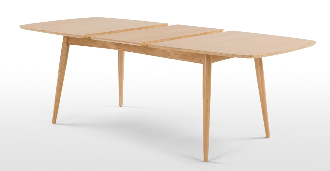 Deauville Extending Dining Table, Oak | Made Regarding Extendable Dining Tables (View 9 of 25)