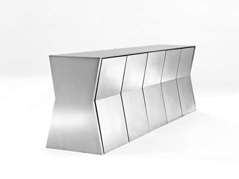 Deceptively Compact Dining Sets: Gioia's Monolith Table For Small In Compact Dining Sets (Image 12 of 25)