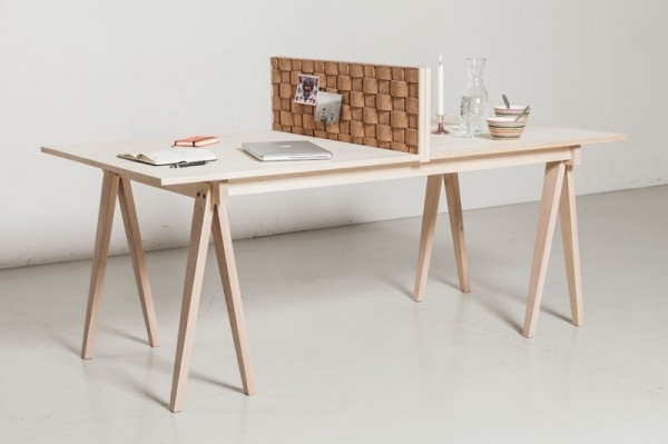 Deco Welcomes Cork Back From The 70's Throughout Cork Dining Tables (Image 10 of 25)