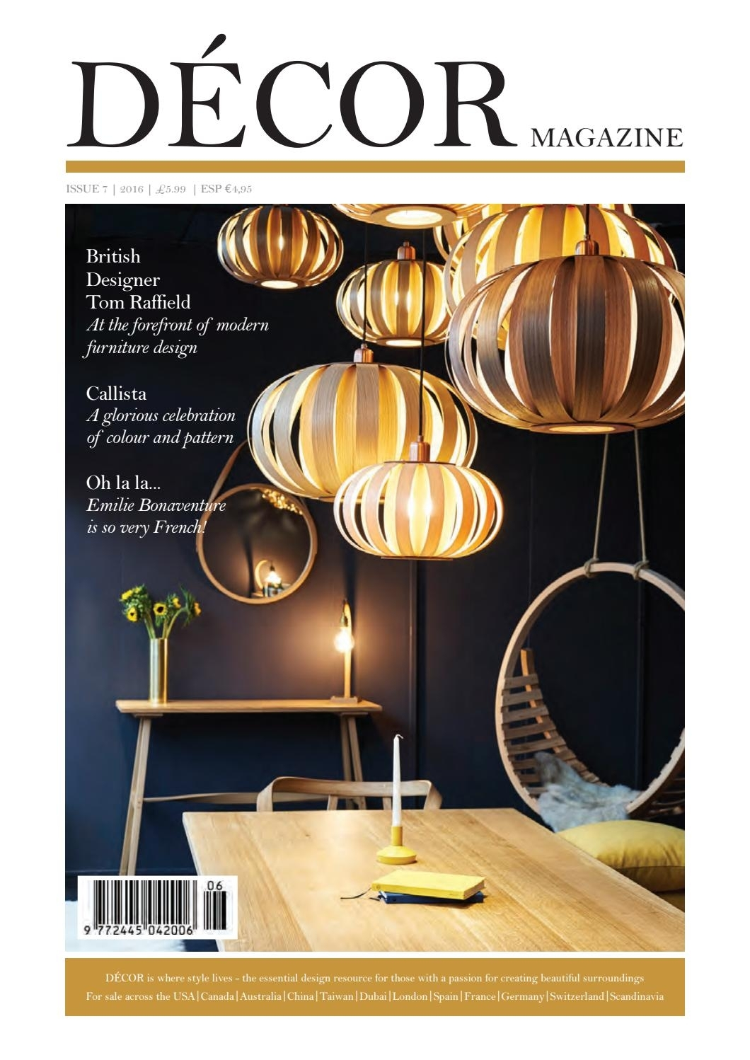Decor Magazineclearvision Marketing – Issuu With Regard To London Optical Reversible Sofa Chaise Sectionals (Image 9 of 25)