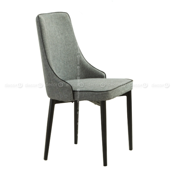 Decor8 Multi Purpose Dining Chairs | Baker Upholstered High Back Throughout High Back Dining Chairs (Image 6 of 25)
