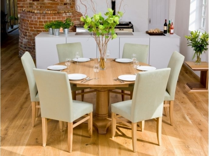 Decorating Nice Dining Table Set 6 Seater Formal Room Ideas Casual Regarding Candice Ii Round Dining Tables (Image 14 of 25)