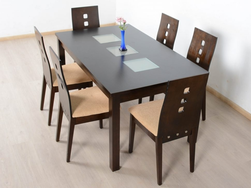 Decorating Nice Dining Table Set 6 Seater Formal Room Ideas Casual Within Candice Ii Round Dining Tables (Image 16 of 25)