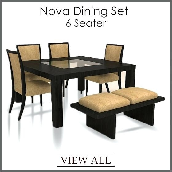 Decoration: 2 Options From 6 Seater Dining Table And Chairs Uk In 6 Seater Dining Tables (Image 17 of 25)