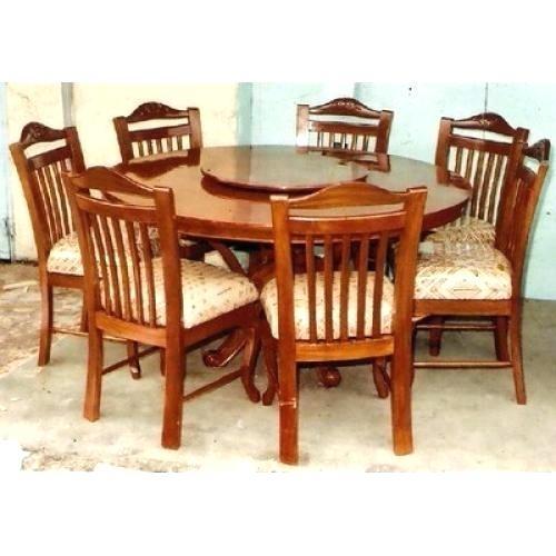 Decoration: 6 Seater Round Dining Table Regarding 6 Seater Round Dining Tables (Image 10 of 25)