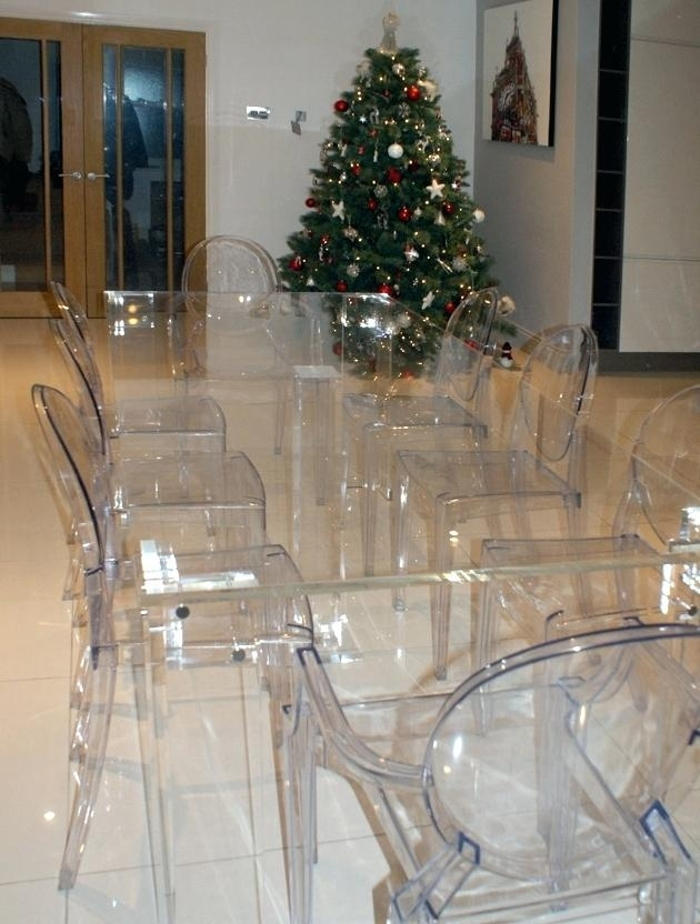 Decoration: 8 Dining Table Acrylic Room Bases (Image 13 of 25)