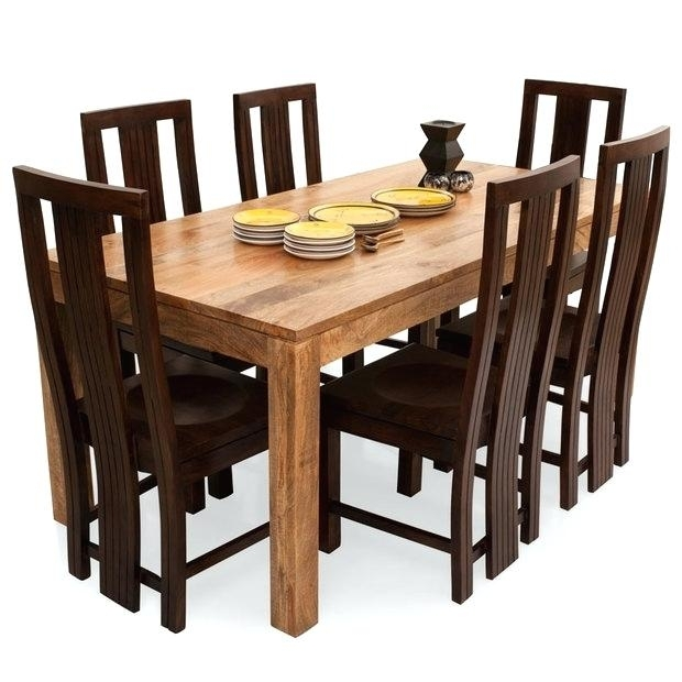 Decoration: Cheap 6 Seater Dining Table And Chairs Inside Cheap 6 Seater Dining Tables And Chairs (View 11 of 25)